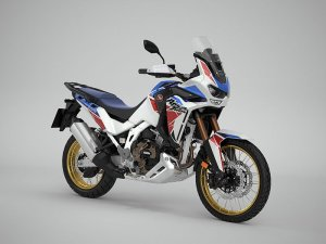 Honda CRF1100L Africa Twin Adventure Sports DCT pearl glare white tricolour