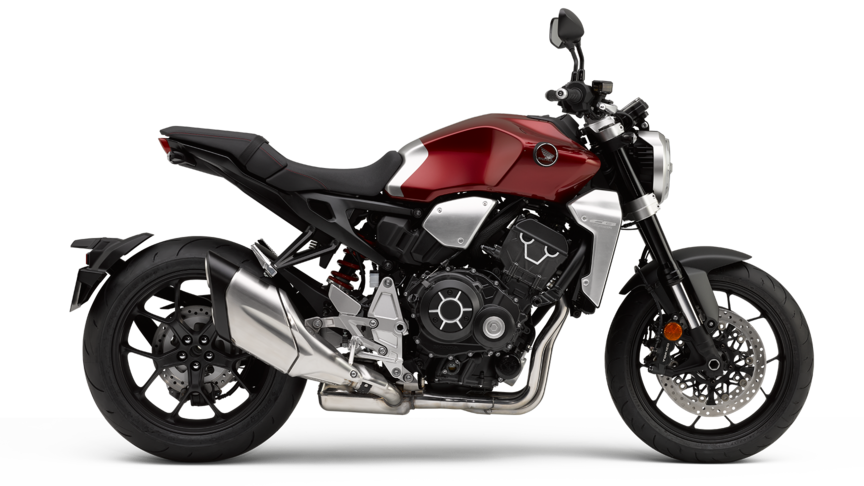 Honda CB1000R candy chromosphere red