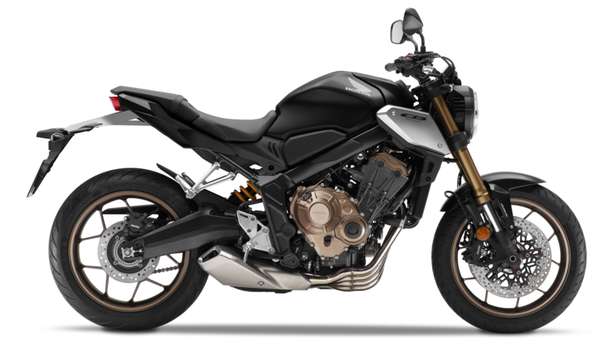 Honda CB650R Matte Gunpowder Black Metallic